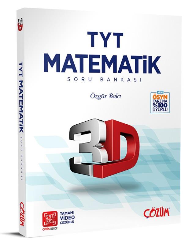 TYT 3D Matematik Soru Bankası Çözüm Yayınları