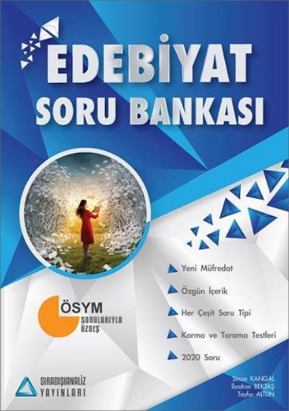 Sıradışıanaliz Yayınları Edebiyat Soru Bankası