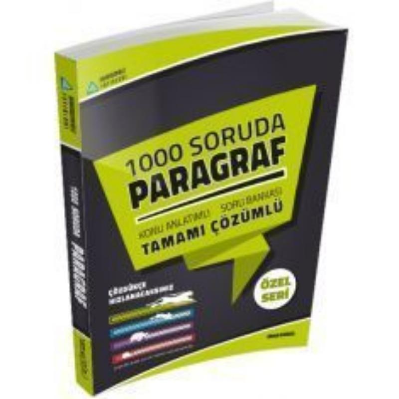 Sıradışıanaliz 1000 Soruda Paragraf Tamamı Çözümlü Konu Özetl