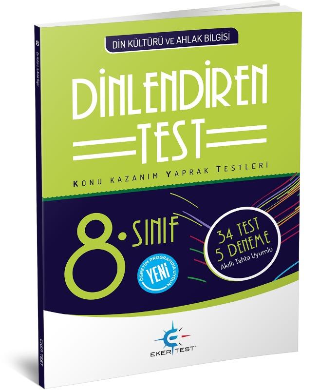 8. Sınıf DİNlendiren Test  Eker Test Yayınları