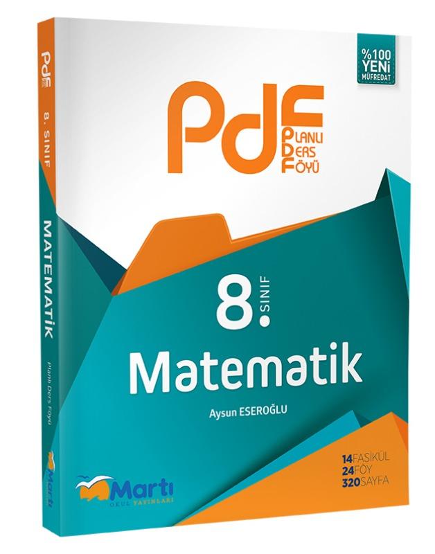 8.Sınıf PDF Matematik Martı Okul Yayınları