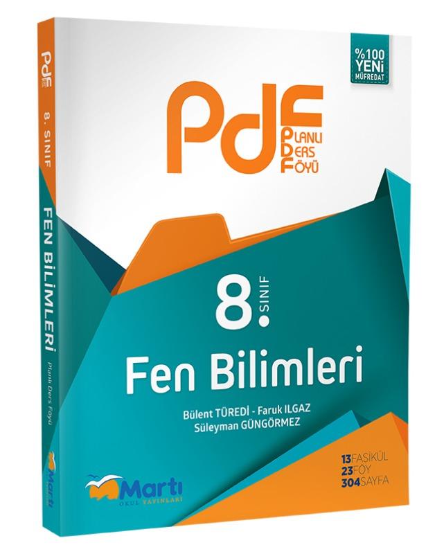8.Sınıf  PDF Fen Bilimleri  Martı Okul Yayınları