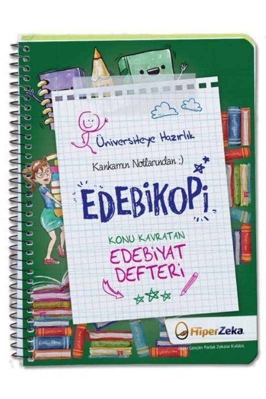 Kankamın Notlarından Edebikopi Konu Kavratan Edebiyat Defteri Hiper Zeka Yayınları