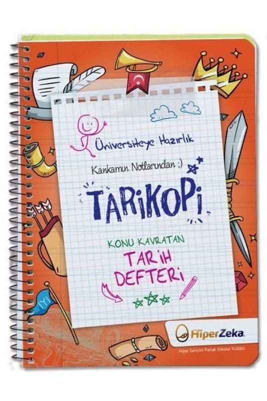 Kankamın Notlarından Tarikopi Konu Kavratan Tarih Defteri Hiper Zeka Yayınları