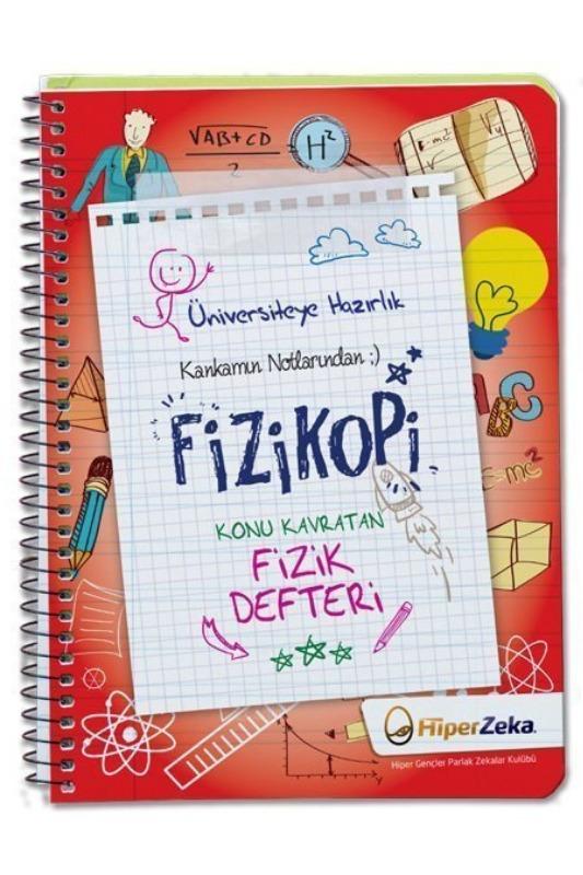 Kankamın Notlarından Fizikopi Konu Kavratan Fizik Defteri Hiper Zeka Yayınları