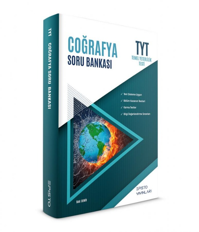 TYT Coğrafya Soru Bankası Episto Yayınları
