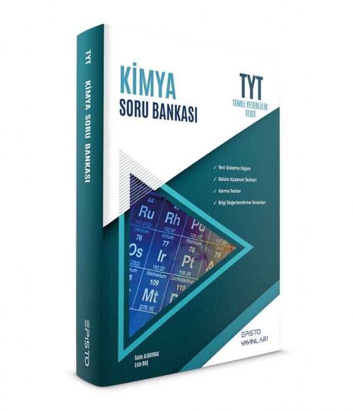 TYT Kimya Soru Bankası Episto Yayınları