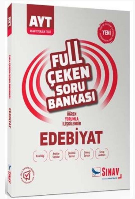 Sınav Yayınları AYT Edebiyat Full Çeken Soru Bankası