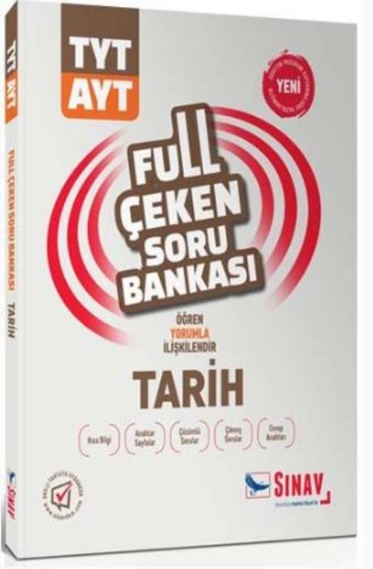 Sınav Yayınları TYT AYT Tarih Full Çeken Soru Bankası