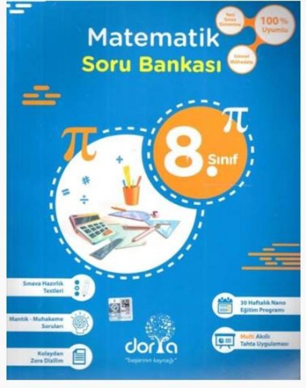Dorya Yayınları 8. Sınıf Matematik Soru Bankası