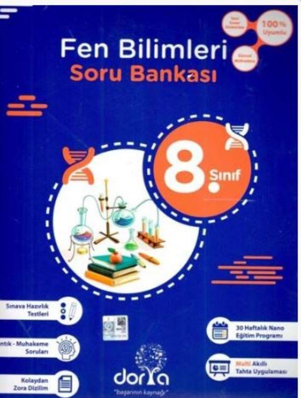 Dorya Yayınları 8. Sınıf Fen Bilimleri Soru Bankası
