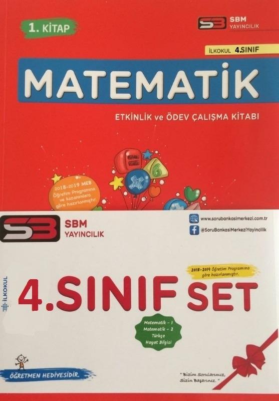 SBM Yayınları 4.Sınıf Matematik Etkinlik ve Ödev Çalışma Kitabı