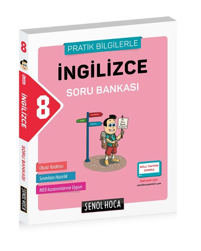 8. Sınıf İngilizce Soru Bankası Şenol Hoca Yayınları