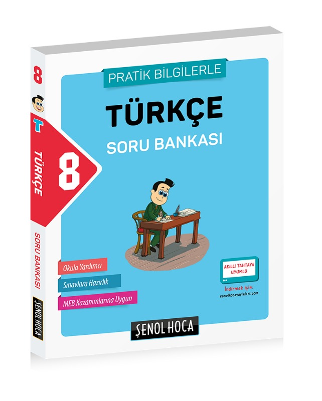 8. Sınıf Türkçe Soru Bankası Şenol Hoca Yayınları