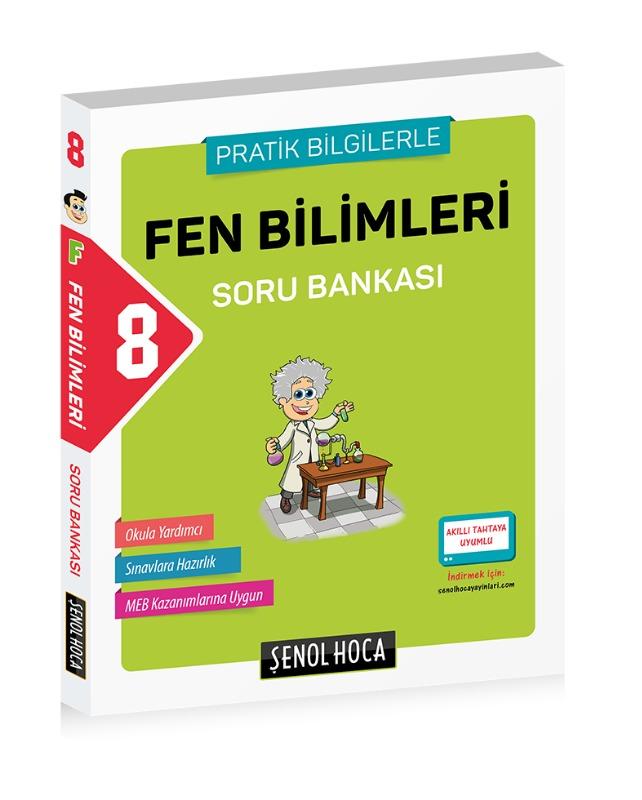 8. Sınıf Fen Bilimleri Soru Bankası Şenol Hoca Yayınları