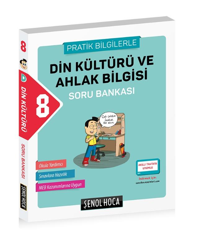 8. Sınıf Din Kültürü Ve Ahlak Bilgisi Soru Bankası Şenol Hoca Yayınları