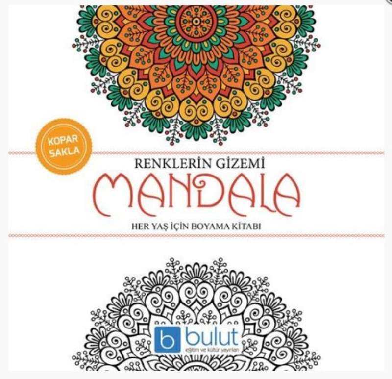 Bulut Eğitim ve Kültür Yayınları Mandala Renklerin Gizemi