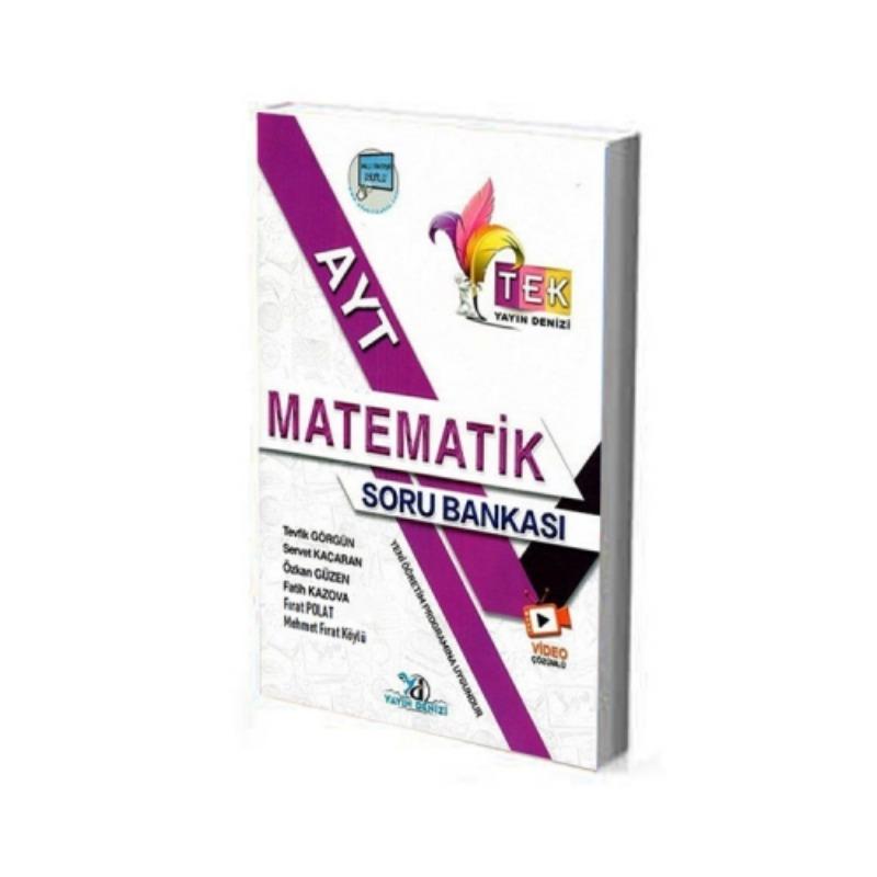 Yayın Denizi Yayınları AYT Tek Matematik Soru Bankası