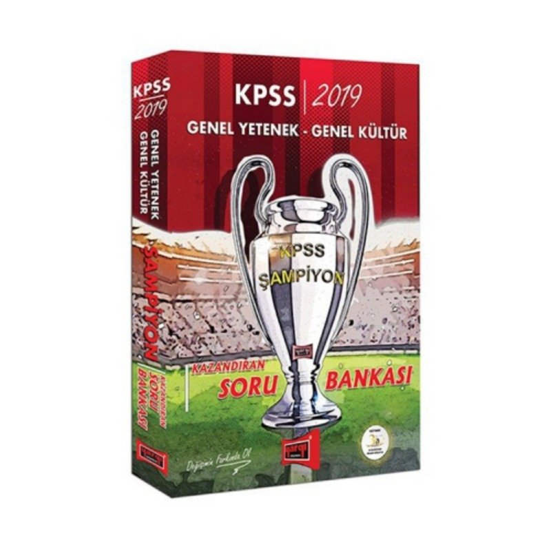 Yargı Yayınları 2019 KPSS Genel Yetenek Genel Kültür ŞAMPİYON Kazandıran Soru Bankası