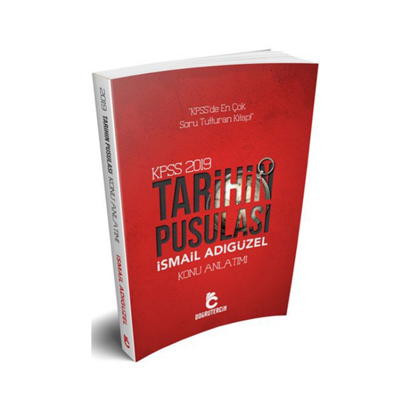 Doğru Tercih Yayınları 2019 KPSS Tarihin Pusulası Konu Anlatımlı