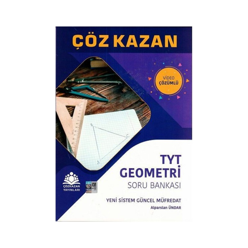 Çöz Kazan Yayınları TYT Geometri Soru Bankası