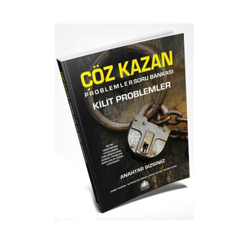 Çöz Kazan Yayınları Kilit Problemler Soru Bankası