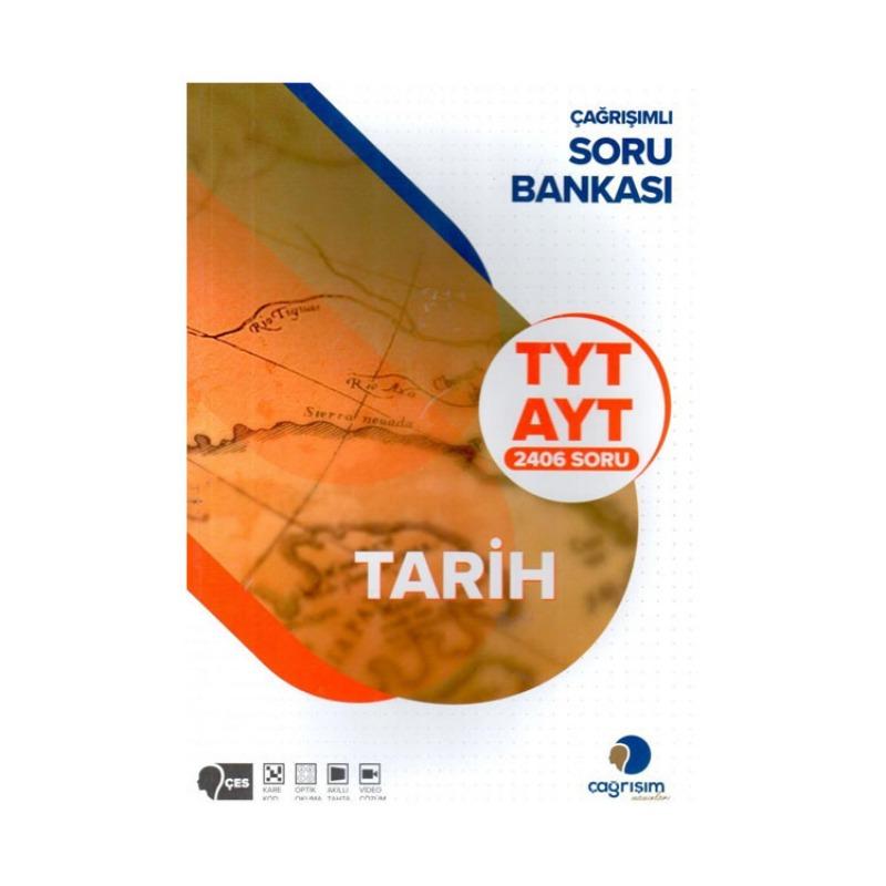 Çağrışım Yayınları TYT AYT Tarih 2406 Soru Bankası
