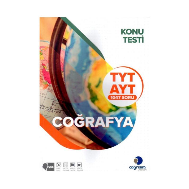 Çağrışım Yayınları TYT AYT Coğrafya Konu Testi