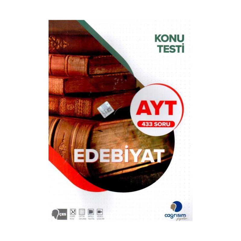 Çağrışım Yayınları AYT Edebiyat Konu Testi