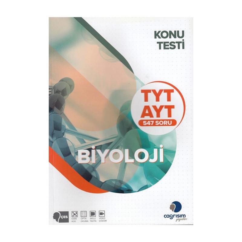 Çağrışım Yayınları TYT AYT Biyoloji Konu Testi