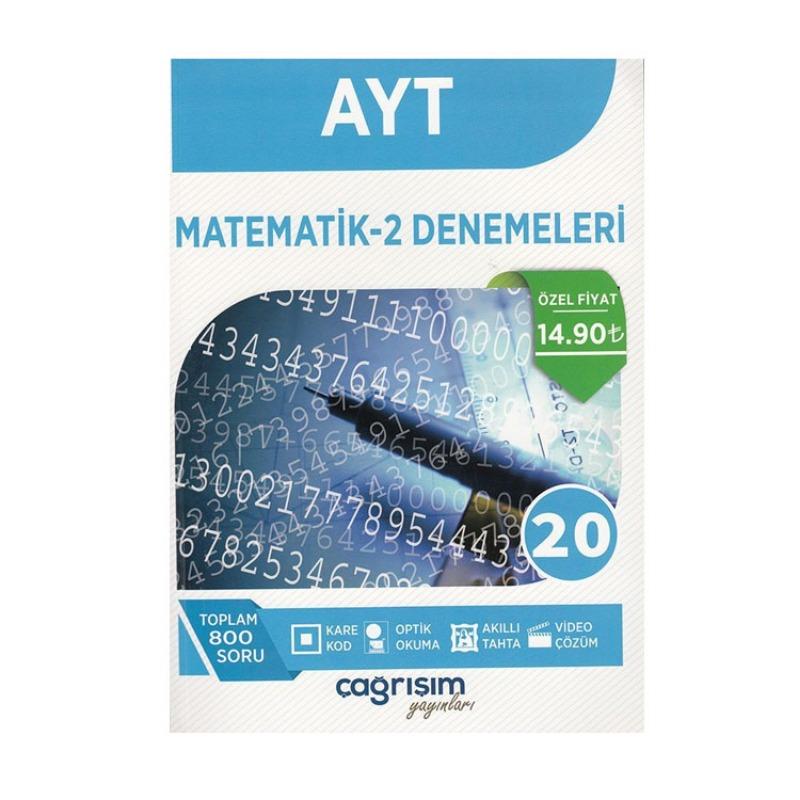Çağrışım Yayınları AYT Matematik 20 Deneme