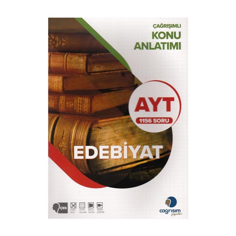 Çağrışım Yayınları AYT Edebiyat Konu Anlatımı