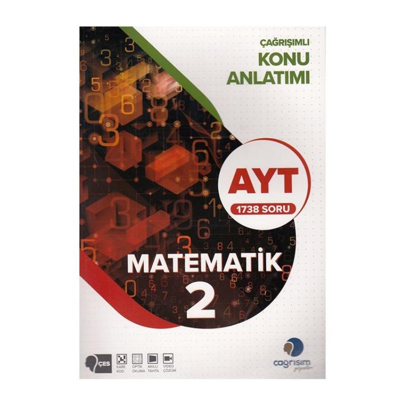 Çağrışım Yayınları AYT Matematik 2 Konu Anlatımı