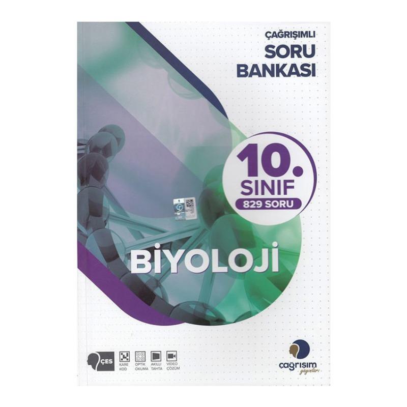 Çağrışım Yayınları 10. Sınıf Biyoloji Soru Bankası