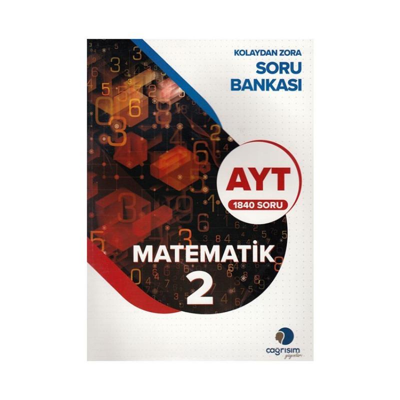 Çağrışım Yayınları AYT Matematik 2 Kolaydan Zora Soru Bankası