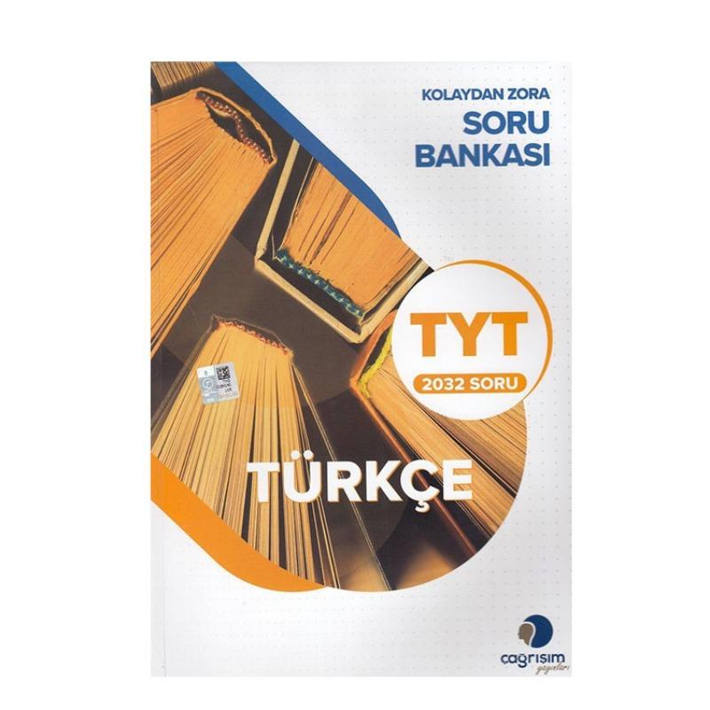 Çağrışım Yayınları TYT Türkçe Kolaydan Zora Soru Bankası