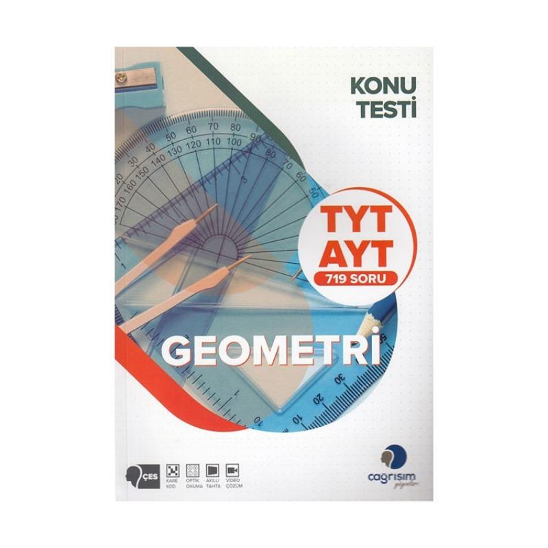 Çağrışım Yayınları TYT AYT Geometri Konu Testi