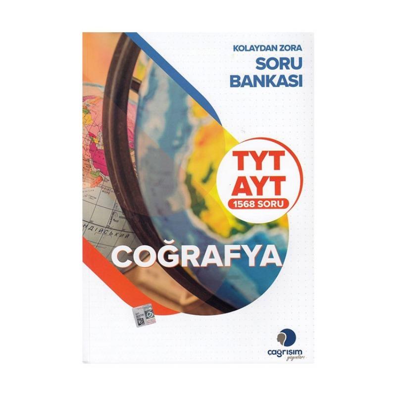 Çağrışım Yayınları TYT AYT Coğrafya Kolaydan Zora Soru Bankası