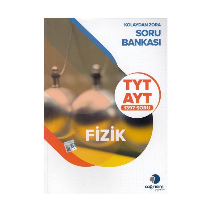 Çağrışım Yayınları TYT AYT Fizik Kolaydan Zora Soru Bankası