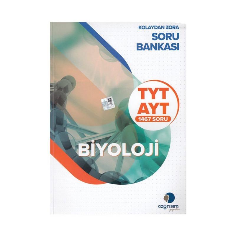 Çağrışım Yayınları TYT AYT Biyoloji Kolaydan Zora Soru Bankası