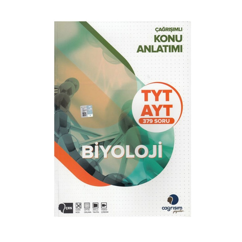 Çağrışım Yayınları TYT AYT Biyoloji Konu Anlatımı