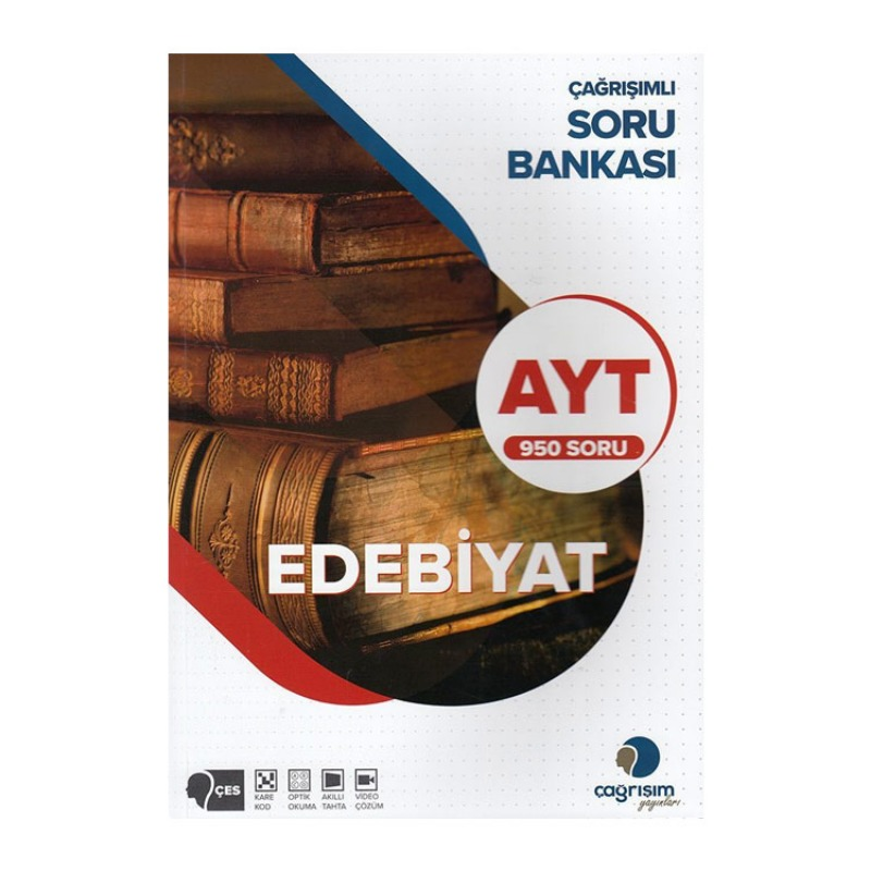 Çağrışım Yayınları AYT Edebiyat Soru Bankası