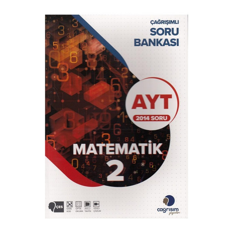 Çağrışım Yayınları AYT Matematik 2 Soru Bankası