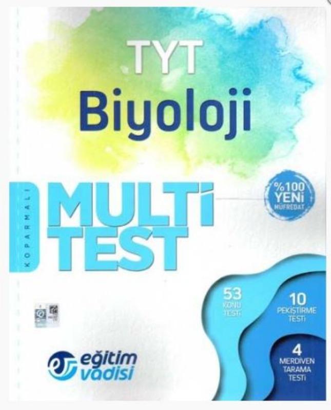 Eğitim Vadisi TYT Biyoloji Multi Test