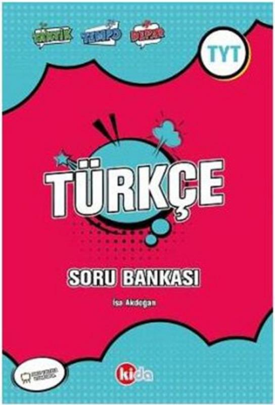 Kida Yayınları TYT Türkçe Soru Bankası