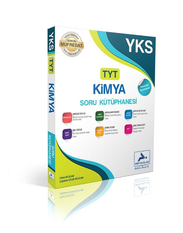 TYT Kimya Soru Kütüphanesi Paraf Yayınları
