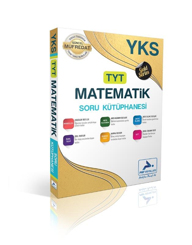 TYT Gold Matematik Soru Kütüphanesi Paraf Yayınları