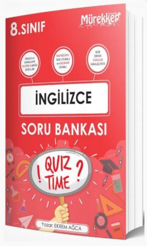 Mürekkep Yayınları 8. Sınıf İngilizce Soru Bankası