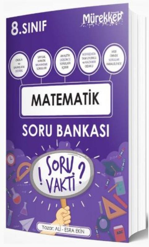 Mürekkep Yayınları 8. Sınıf Matematik Soru Bankası