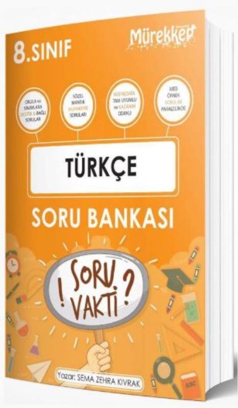 Mürekkep Yayınları 8. Sınıf Türkçe Soru Bankası